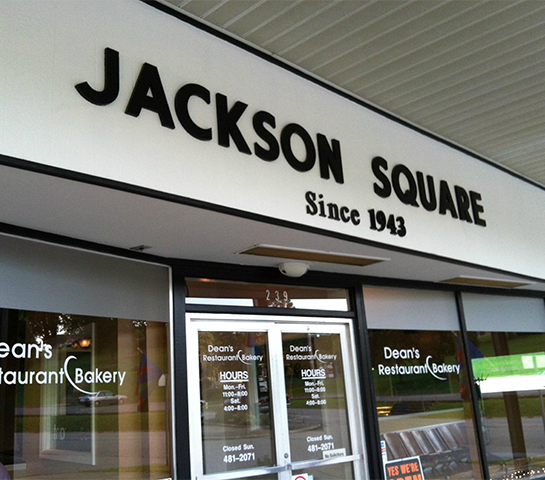 Jackson Square Locaiton